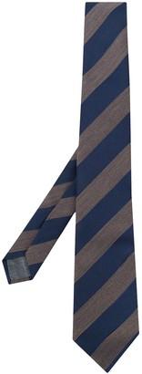 Brunello Cucinelli Diagonally Striped Tie