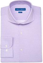 Vince Camuto Men's Slim-Fit Purple Dot-Pattern Dress Shirt