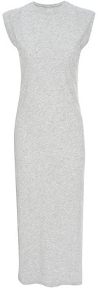Frame Le Muscle Slit Midi Dress