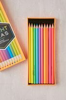Urban Outfitters Neon Colored Pencils Set