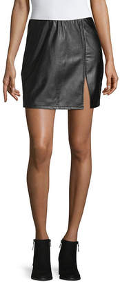 SOCIETY AND STITCH Society And Stitch Womens High Low Pencil Skirt-Juniors