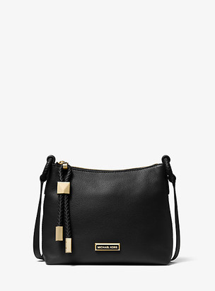 Michael Kors Lexington Large Pebbled Leather Crossbody Bag