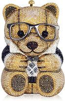 Judith Leiber Couture Spencer Teddy Bear Evening Clutch Bag, Brown/Gold