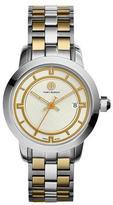 Tory Burch 37mm Tory Two-Tone Bracelet Watch