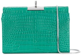 Gu_de Luxy crocodile-effect cross-body bag