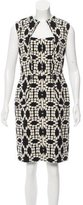 Lela Rose Patterned Knee-Length Dress w/ Tags