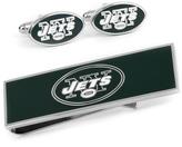 Ice New York Jets Cufflinks and Money Clip Gift Set