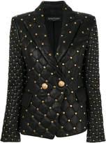 Balmain studded blazer