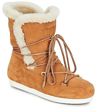 Moon Boot FAR SIDE HIGH SHEARLING women's Snow boots in Brown