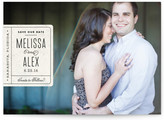 Minted Book Plate Save the Date Cards