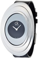 Calvin Klein Women's Mound K9322102 Leather Quartz Watch with Dial