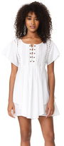 Marissa Webb Shona Lace Up Dress