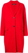 Iris von Arnim cocoon coat - women - Polyester/Cashmere/Wool - 38