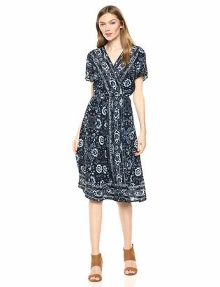 Lucky Brand Women's Ashley WRAP Dress