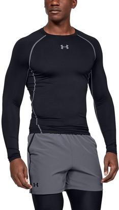 Under Armour Men's UA HeatGear Armour Long Sleeve Compression Shirt