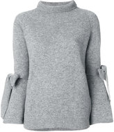 Ermanno Scervino tie sleeve sweater