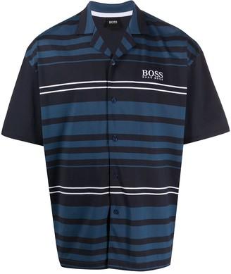 BOSS Striped Print Pyjama Set