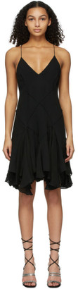 KHAITE Black Harlequinn Dress