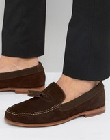 Ted Baker Dougge Suede Tassel Loafers