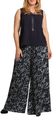 Standards & Practices Patricia Palazzo Pants (Plus Size)