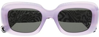 RetroSuperFuture zebra print Virgo sunglasses