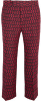 Gucci Woven Wool Flared Pants - IT36