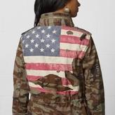 Denim & Supply Ralph Lauren Camo Flag Field Jacket