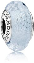 Pandora Frosty mint glitter glass charm