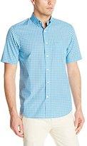 Dockers Short Sleeve No Wrinkle Signature Plaid Shirt
