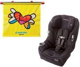 Maxi-Cosi Pria 85 Convertible Car Seat, Devoted Black with Britto Heart Sunshade by