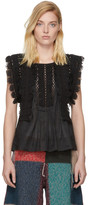 Isabel Marant Black Nandy Blouse