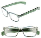 Eyebobs Men's Roy D 51Mm Reading Glasses - Blue With Green