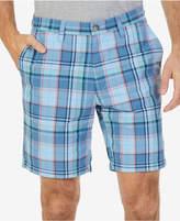 "Nautica Men's Classic-Fit Roadmap Plaid 8.5"" Shorts"