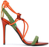 A.F.Vandevorst strappy cord sandals