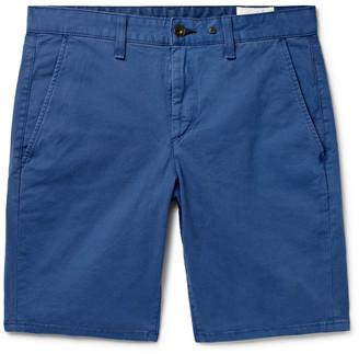Rag & Bone Classic Slim-Fit Cotton-Blend Twill Chino Shorts