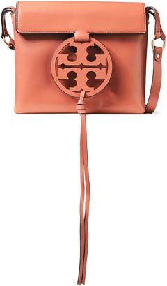 Tory Burch Logo-embellished Leather Shoulder Bag