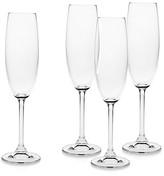 Godinger Meridian 7 oz. Champagne Flutes, Set of 4
