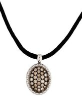 Roberto Coin Diamond Locket Necklace