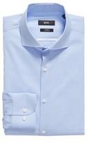 BOSS Men's Jerrin Slim Fit Check Dress Shirt