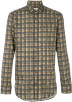 Etro check classic fit shirt
