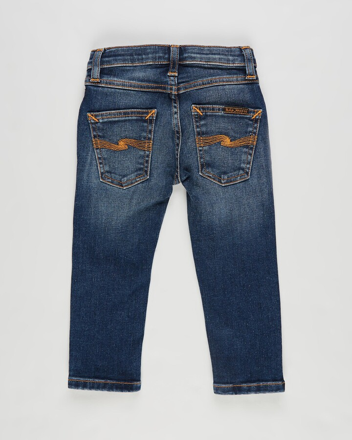 Thumbnail for your product : Nudie Jeans Blue Straight - Tiny Turner Baby Jeans - Babies - Size 1 YR at The Iconic