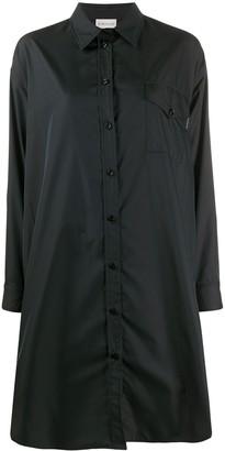 Moncler Pleat-Detail Shirt Dress