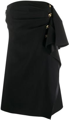 Versace Ruffled-Detail Short Dress