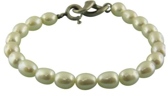 Tiffany & Co. 925 Sterling Silver Infinity Pearl Bracelet