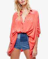 Free People Lovely Day Long-Sleeve Shirt