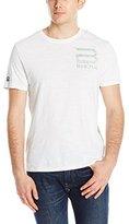 Buffalo David Bitton Men's Niches Short Sleeve Crew Neck Fashion Tee Shirt