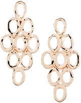 Ippolita Rose Gold Open Cascade Post Earrings