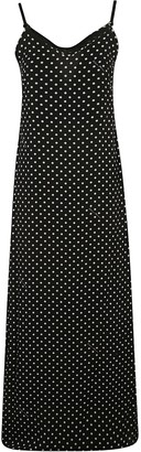 Moschino Long-length Dotted Print Dress