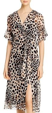 Elie Tahari Ava Silk Printed Dress