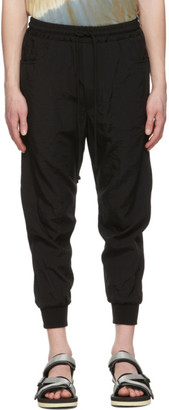 Song For The Mute Black Trackies Lounge Pants